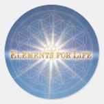 Pegatina de FOL, elementos para la vida