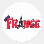 Pegatina de Francia