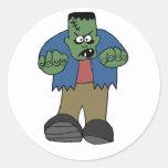 Pegatina de Frankenstein