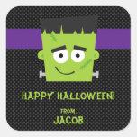 Pegatina de Frankenstein Halloween, niños