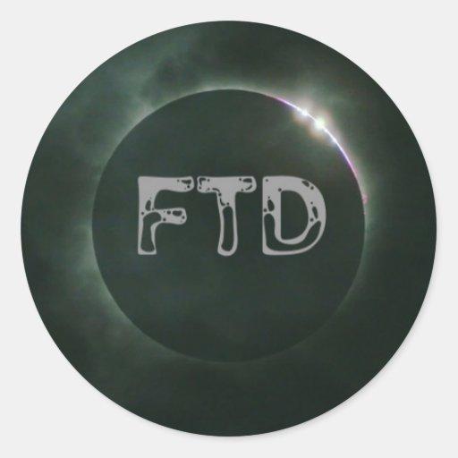 Pegatina de FTD