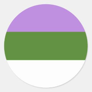 Pegatina de Genderqueer