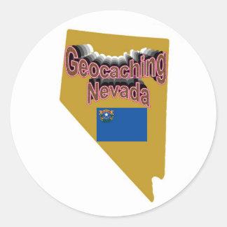 Pegatina de Geocaching Nevada