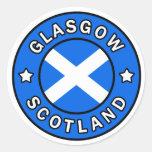 Pegatina de Glasgow Escocia