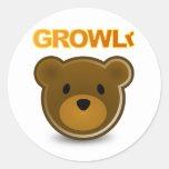 Pegatina de GROWLr