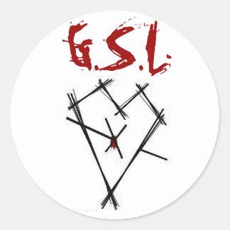 Pegatina de GSL