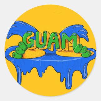 Pegatina de Guam