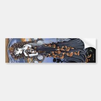 Pegatina de hadas del arte de la fase de la luna d pegatina para auto