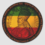 Pegatina de Haile Selassie