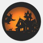 Pegatina de Halloween del vuelo nocturno