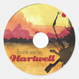 Pegatina de Hartwell