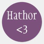 Pegatina de Hathor <3