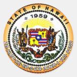 Pegatina de Hawaii 50.a