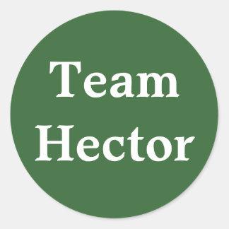 Pegatina de Hector del equipo