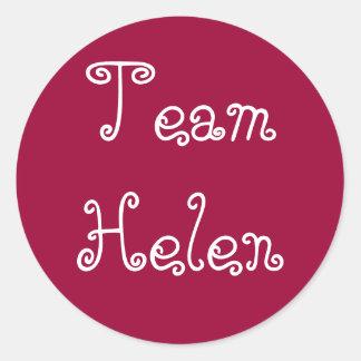 Pegatina de Helen del equipo
