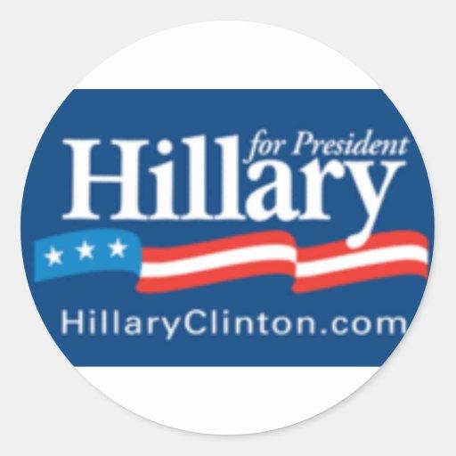 Pegatina de Hillary