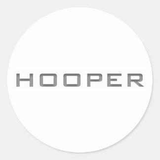 Pegatina de Hooper