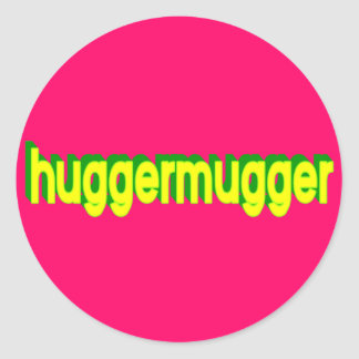 Pegatina de Huggermugger