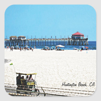 Pegatina de Huntington Beach