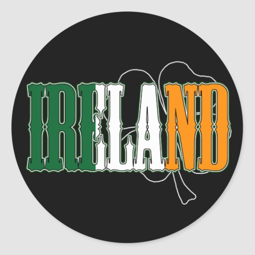 Pegatina de Irlanda