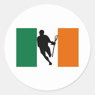 Pegatina de IRock Irlanda de la bandera de