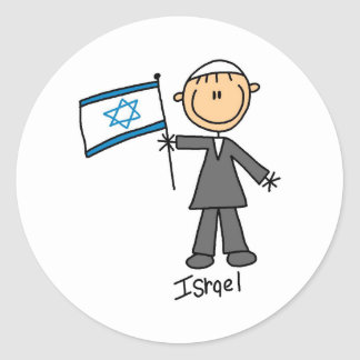 Pegatina de Israel