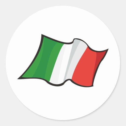 Pegatina de Italia