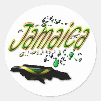 Pegatina de Jamaica Jamaica
