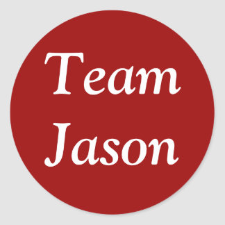Pegatina de Jason del equipo
