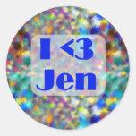 Pegatina de Jen