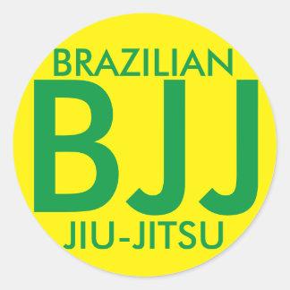 Pegatina de JIu Jitsu BJJ del brasilen@o