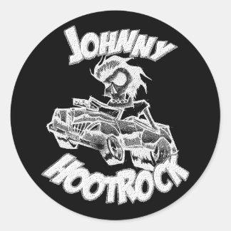 Pegatina de JOHNNY HOOTROCK