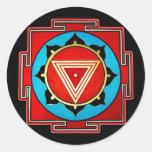 Pegatina de Kali Yantra