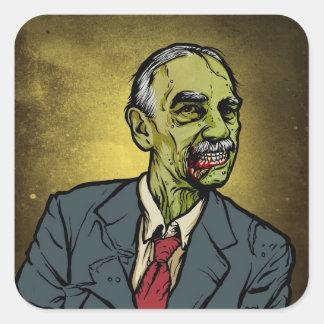 Pegatina de Keynes del zombi