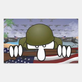Pegatina de Kilroy de la guerra mundial 2
