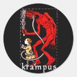 Pegatina de Krampus