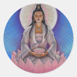 Pegatina de Kuan Yin