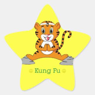 Pegatina de Kung Fu Tiger™
