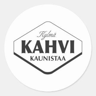 Pegatina de Kylmä Kahvi Kaunistaa