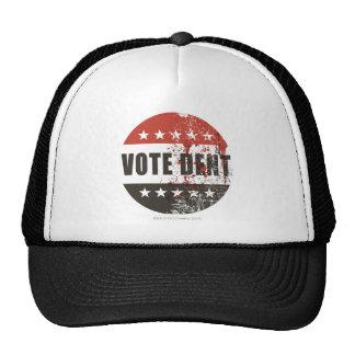 Pegatina de la abolladura del voto gorras de camionero