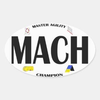 Pegatina de la agilidad del MACH
