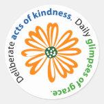 Pegatina de la amabilidad