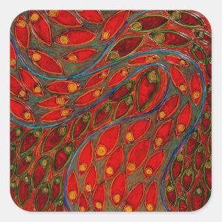 pegatina de la amapola y del juglar (pintura)