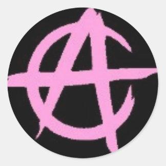 pegatina de la anarquía