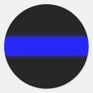 pegatina de la aplicación de ley de la policía