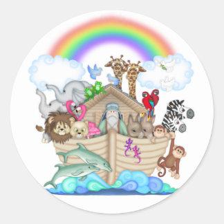 Pegatina de la arca de Noah