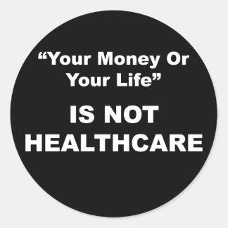 Pegatina de la atención sanitaria