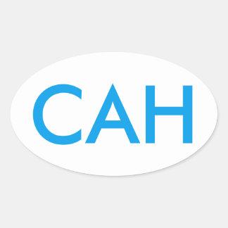 Pegatina de la ayuda de CAH