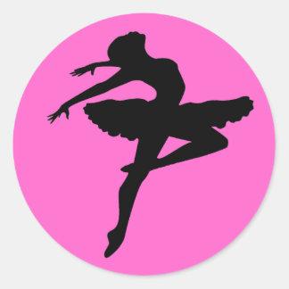 Pegatina de la bailarina