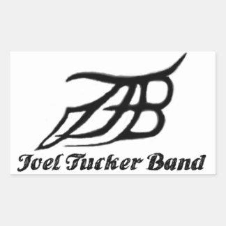 Pegatina de la banda de Joel Tucker
